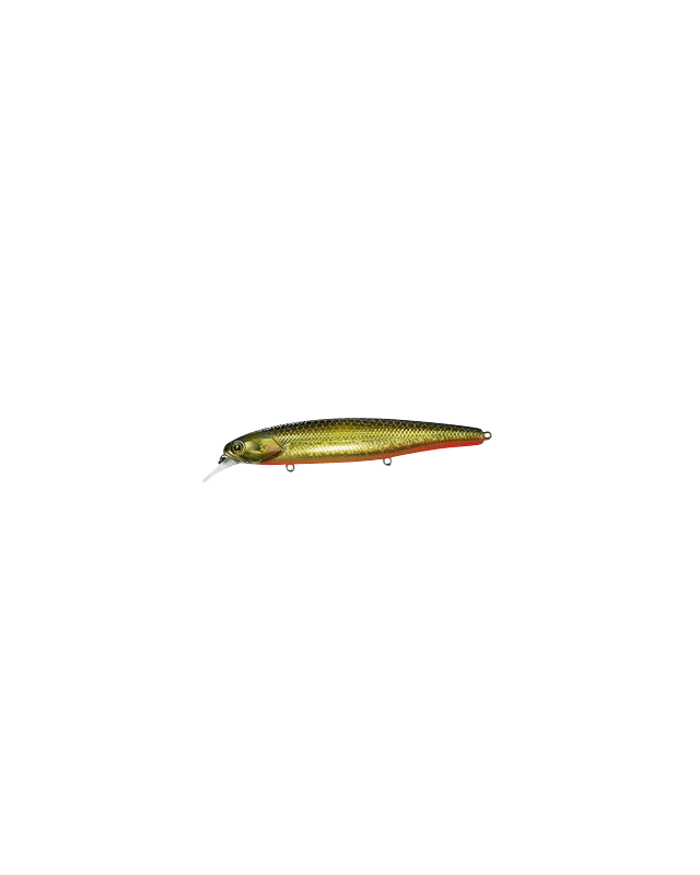 Воблер Jackall Smash Minnow 110SP hl gold & black