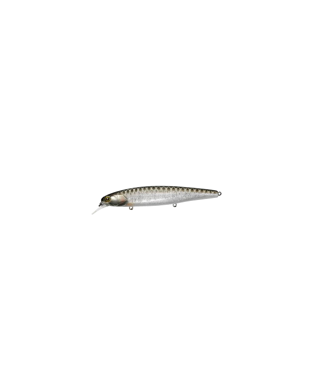 Воблер Jackall Smash Minnow 110SP hl silver & black