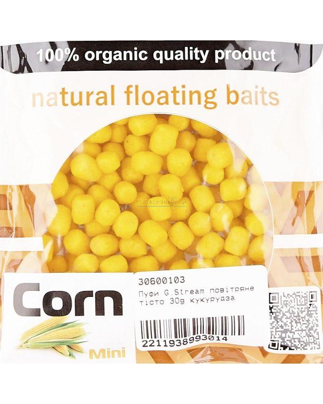 Пуфи G.Stream воздушное тесто 30g кукуруза