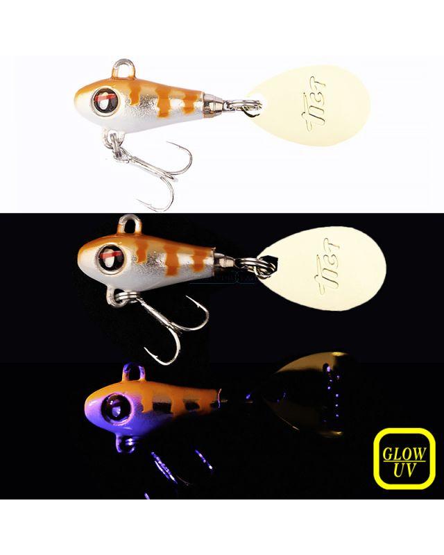 Тейл-спиннер Tict Spinbowy 4.0g 03 UV baby rockfish
